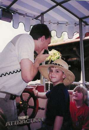 Working on the Jungle Cruise in the 1990's - NN