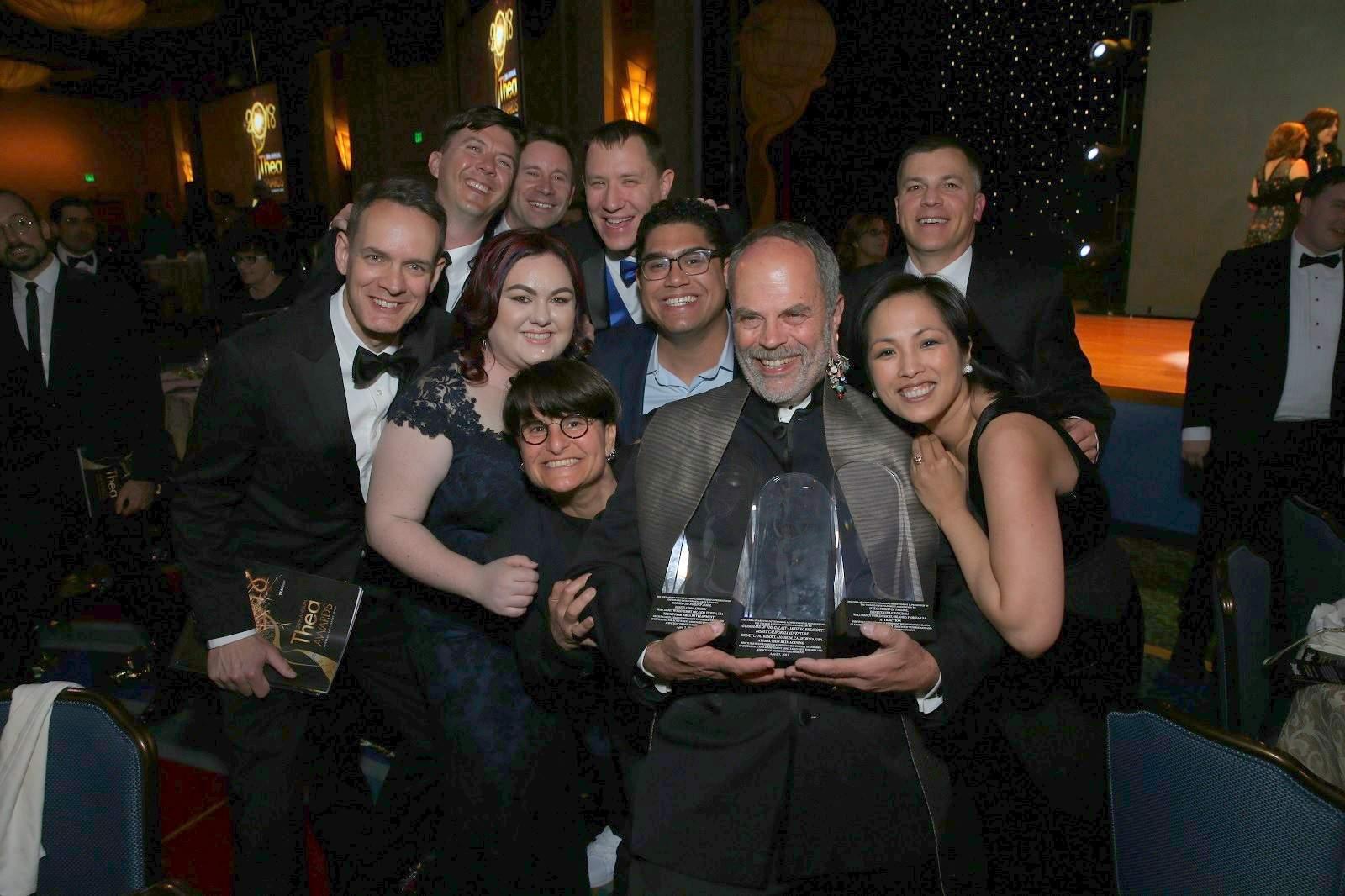 Joe Rohde and WDI receive TEA Thea Awards