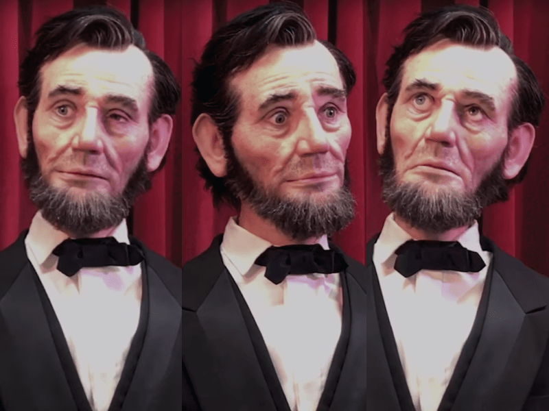 Garner Holt's Lincoln Animatronic
