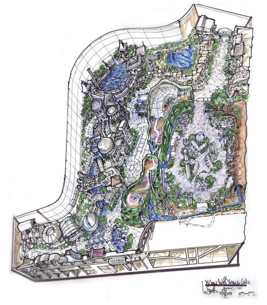 Broc Smith's theme park master plan