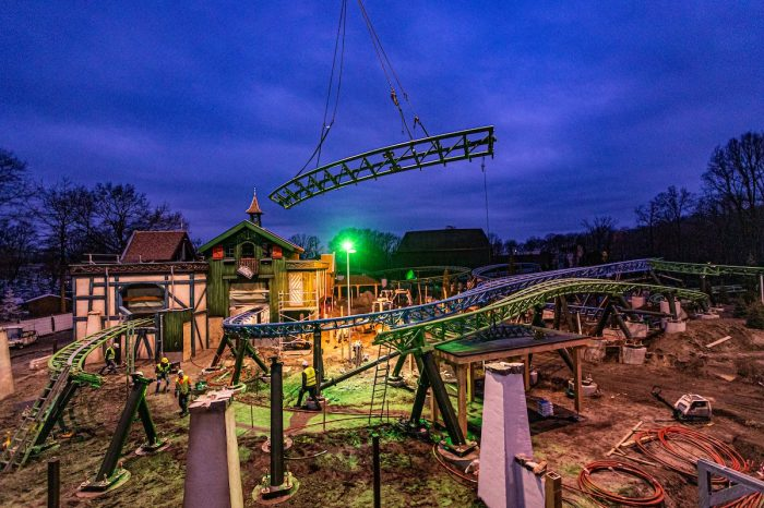 Efteling's New Dual-Track Coaster Nearly Complete