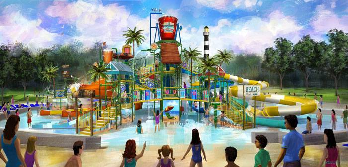 Kings Dominion 'Coconut Shores' Renovation opening May 2020