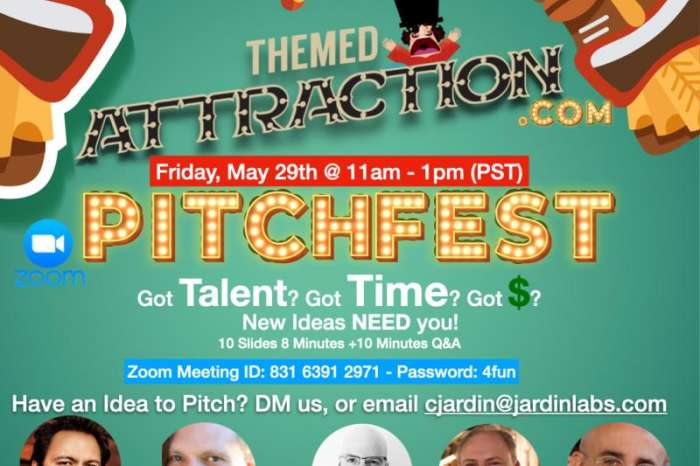 Coming Soon! Themed Attraction's Pitchfest