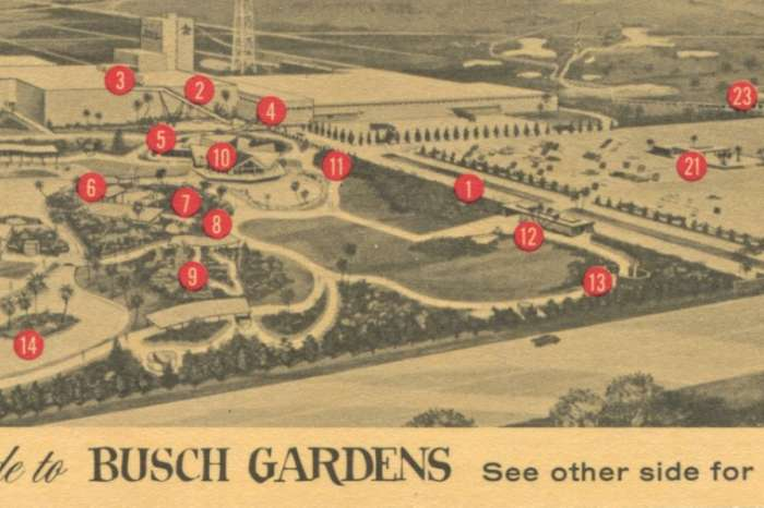 The Busch Gardens parks: Vintage ads, guides, and maps