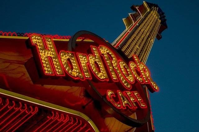 Hard Rock Hard Rock Cafe Sign Cafe  - vicariousalex / Pixabay
